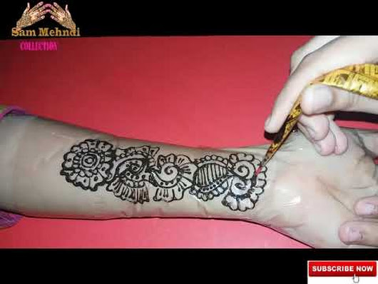 Front Hand Henna Mehndi Design : Bridal fullhand mehndi youtu be ghogqwbbpgy