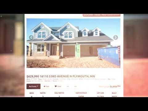New construction homes in Plymouth MN