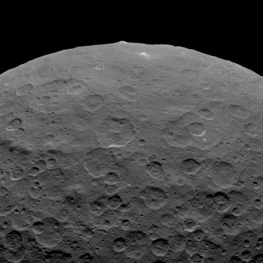 Cryovolcanism Helped Shape Dwarf Planet Ceres