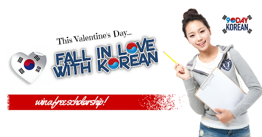 Fall in Love With Korean - Get a Chance to Win a Full Scholarship to the 90 Day Korean Inner Circle Web Program and Learn Korean in 90 Days