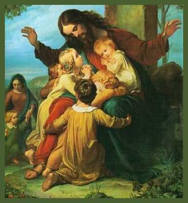 Risultati immagini per dei piccoli è il regno dei cieli