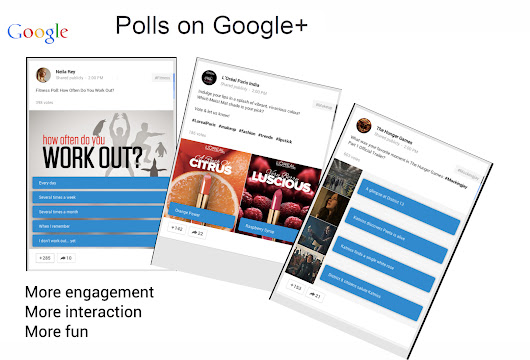 Social Polls Now Part of Google+