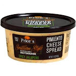 Prices Spicy Jalapeno Pimento Cheese, 11 Ounce - 12 per case.