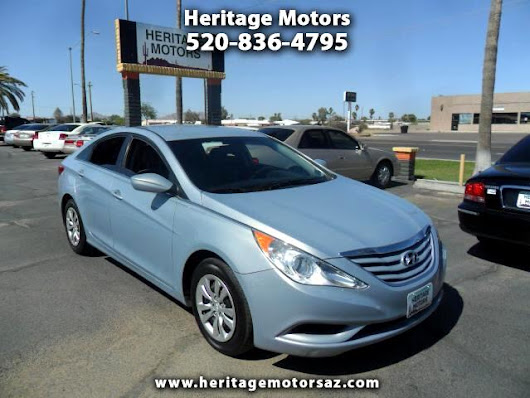 Used 2012 Hyundai Sonata GLS Manual for Sale in Casagrande AZ 85122 Heritage Motors