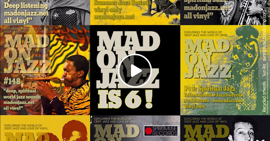 Spiritmuse Records presents MADONJAZZ #153 - MADONJAZZ is 6 !