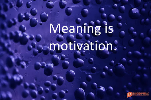 7 Ways to Infuse Meaning into Work