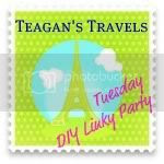 Teagan's Travels Button, 2012 February