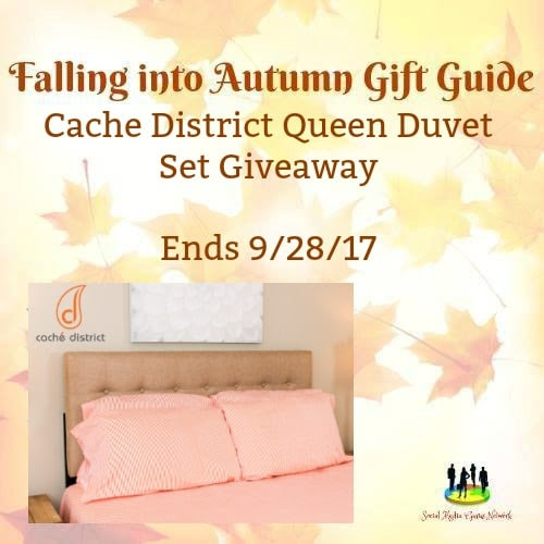 Enter the Cache' District Queen Duvet Set Giveaway! Ends 9/28