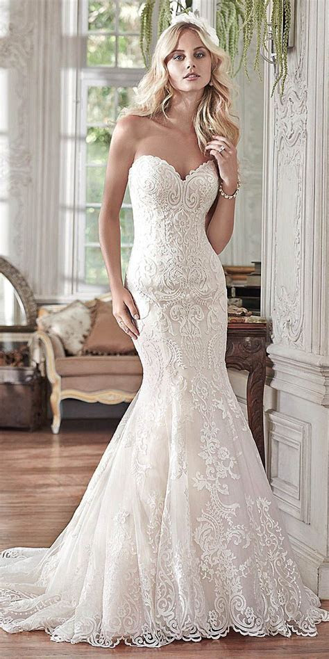 Best 25  Romantic wedding gowns ideas on Pinterest