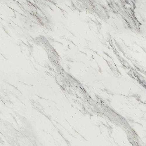 "Zoomed: Wilsonart 48"" x 96"" Calcutta Marble Laminate Countertop Sheet"