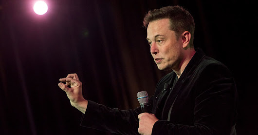 Tesla CEO Elon Musk says he was 'raised by books'