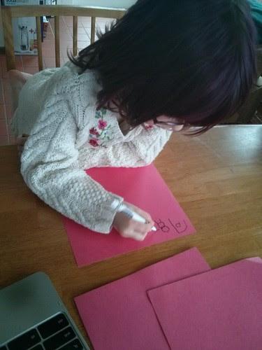 Practicing Mandarin characters