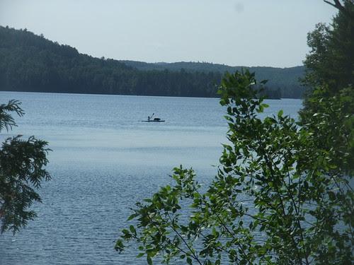 kayak with Marley