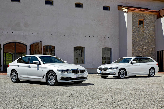 BMW 5 Series and 7 Series add four-cylinder engines