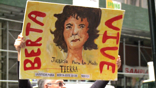 NYC: Activists Honor Slain Environmentalist Berta Cáceres on Mother's Day