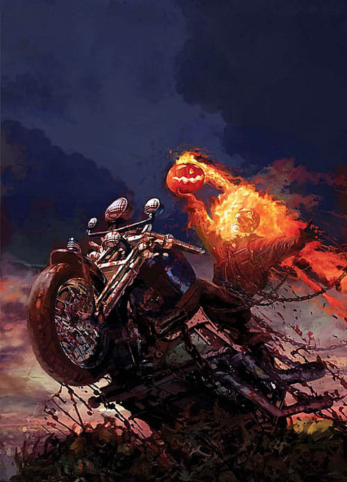 Ghost Rider by Arthur Suydam