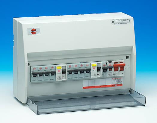 replacing old fuse box consumer unit image 6