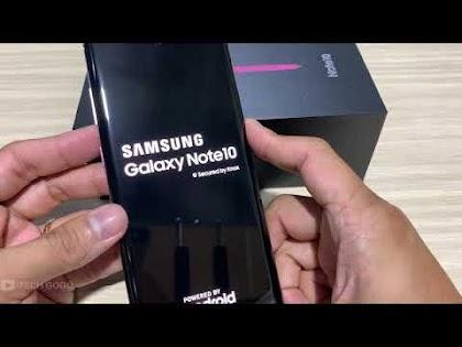 Hướng dẫn Hard Reset Samsung Galaxy Note 10
