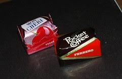 Ferrero Mon Cheri and Pocket Coffee