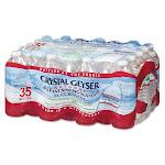 Crystal Geyser Natural Alpine Spring Water, 16.9-oz, 35 Bottles (CGW35001CTDEP)