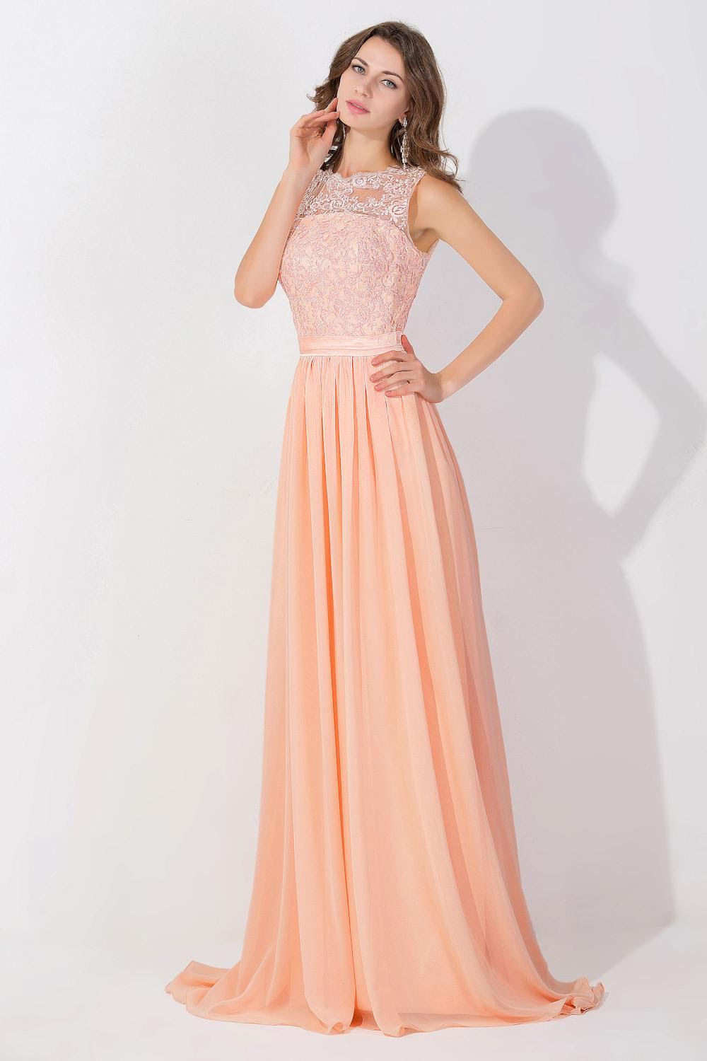 Long evening gown cheap