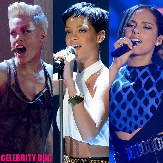 Wetten, Dass..? - December 2012, Pink, Rihanna, Alicia Keys