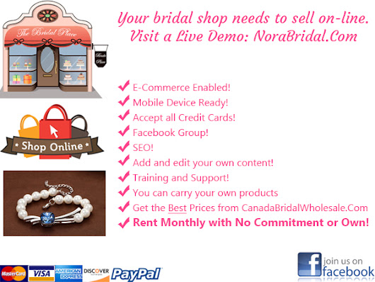 Calgary Bridal Shops Marketing How to prevent a Going Out of Business Sale
