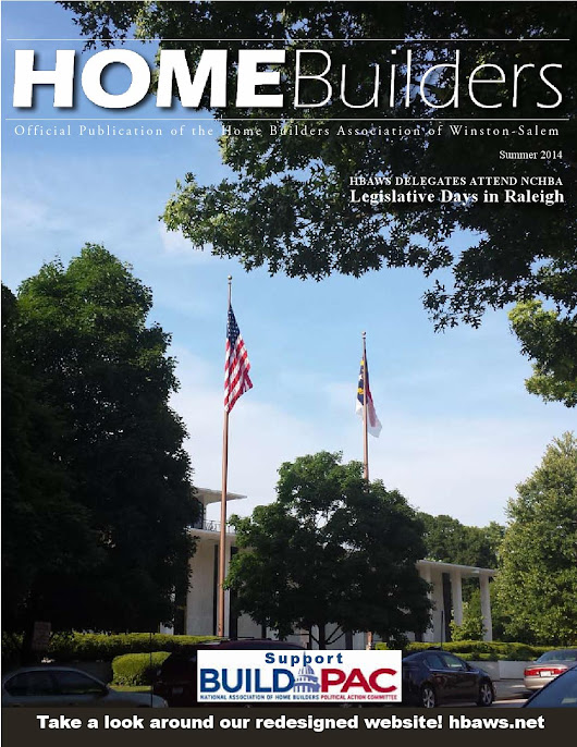 HomeBuilders Magazine - Summer Edition 2015