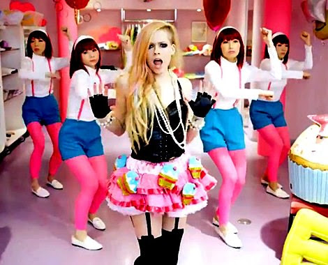 El vídeo de Hello Kitty de Avril Lavigne