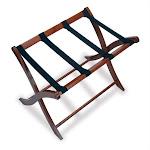 Pemberly Row Luggage Rack in Antique Walnut - PR-25350