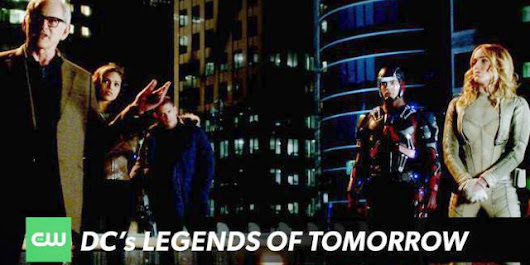 DC's Legends Of Tomorrow Trailer Released