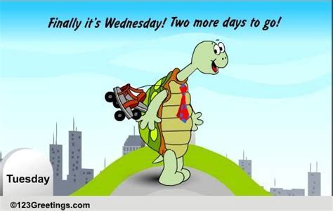 Finally It's Wednesday! Free Midweek Crisis eCards