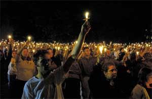Candlelight Vigil.