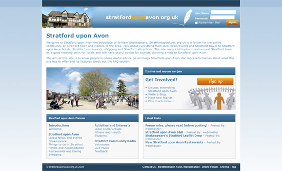 Stratford upon Avon Forum