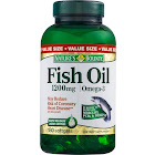 Nature's Bounty Fish Oil Dietary Supplement, Softgels, 1200mg - 180 count