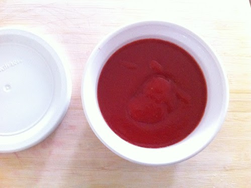 Strawberry Curd Ready to be Chilled
