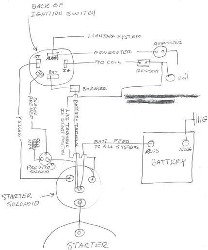 Diesel Ignition Switch Wiring Diagram