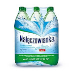 Naleczowianka Mineral Water Carbonated, 1.5 Liter 6 Count