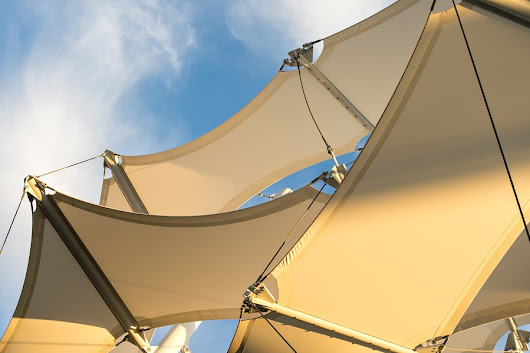 Shade Sails Create Usable Outdoor Living Space - Bug & Weed Mart