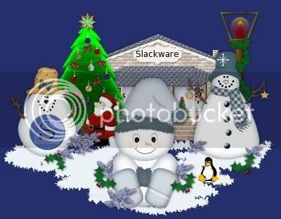 Slack Christmas