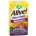 Alive! Once Daily Women's Ultra Potency By Nature's Way - 60 Tablets