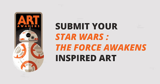 Star Wars The Force Awakens fan art contest