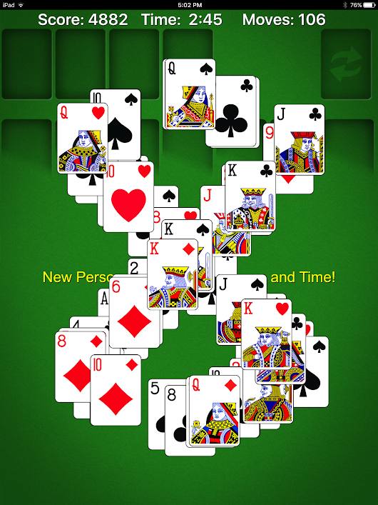 Solitaire Doesn't Have To Be Solitary: New Features in Solitaire - Clever Housewife