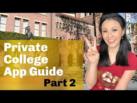 College Guide: Everything you need to know about applying to Private Colleges - Part 2 (2021 UPDATE)