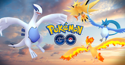 Legendary Pokémon are here! - Pokémon GO