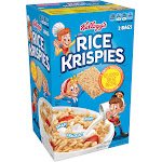 Kellogg's Rice Krispies Cereal - 34.4 oz box