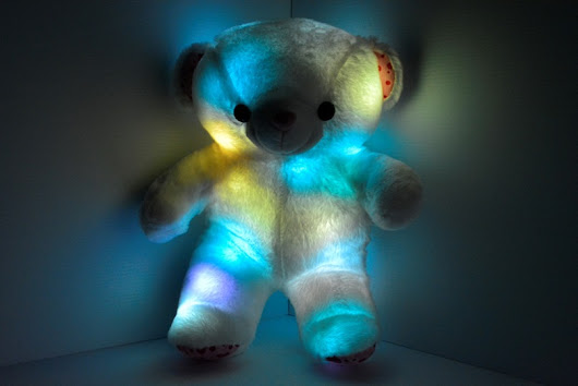 LED light up Teddy Bear the perfect gift! | Eternity LED Glow