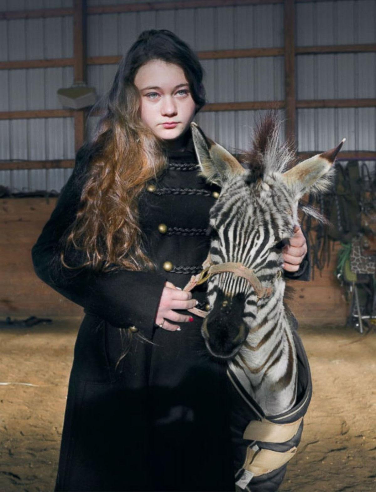 O Mundo de Amelia - A menina que cresceu com os animais e os considera seus irmãos 26