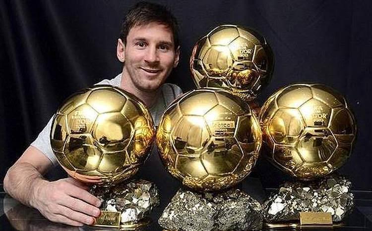 La FIFA revela los nombres de los finalistas para el Balón de Oro.