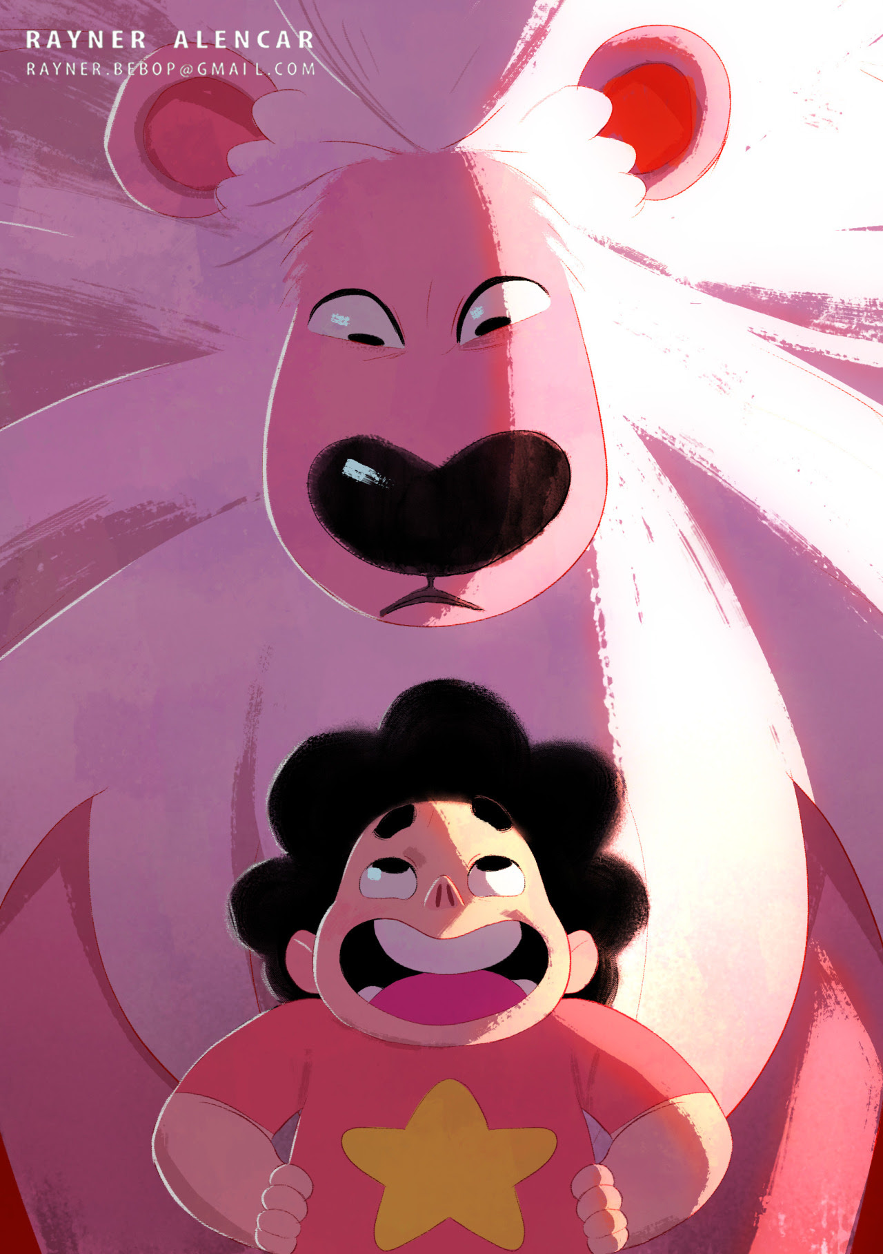 Steven and Lion,